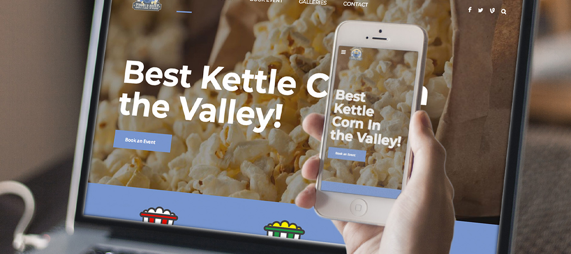 Kettle Corn Website Development